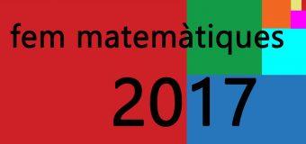 Fem Matemàtiques 2017
