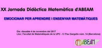 XX Jornada Didàctica Matemàtica d'ABEAM