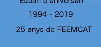 25 Aniversari de FEEMCAT